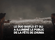 Fête de l'Huma 2018: la demande lumineuse de Bigflo et Oli à leur public a donné un moment