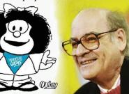 Mafalda détournée par les anti-avortement en Argentine, son créateur Quino en
