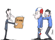 Combien de temps les Français vont-ils avoir la tête dans les