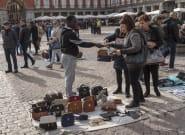Las denuncias contra el 'top manta' en Madrid caen un 36% en la primera mitad del