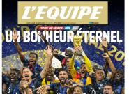 Merci les Bleus: La une de L'Équipe après la victoire en 2018 répond à celle de