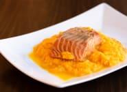 Recetas fáciles: salmón con crema de