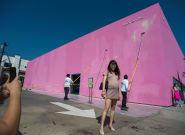 Un artiste s'est fait plaisir en vandalisant ce célèbre mur à selfies de Los