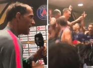 Trophée des champions: Thomas Tuchel bizuté par les joueurs du PSG après la victoire contre