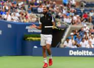 Yannick Noah et Benoit Paire avant la demi-finale de Coupe Davis: