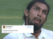 Ishant Sharma's On-Field Antics Has Twitterati In