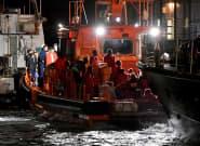 Salvamento Marítimo rescata tres pateras con 151 migrantes a bordo, entre ellos 12 mujeres y cinco