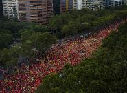 À Barcelone, un million d'indépendantistes catalans défilent en ce jour de