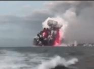 Une boule de lave du volcan Kilauea à Hawaï s'abat sur un bateau de touristes, 23