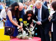 Las imágenes de los actos del aniversario del doble atentado en