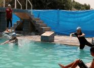 À Mossoul débarrassée de Daech, ces jeunes nageuses se jettent enfin à
