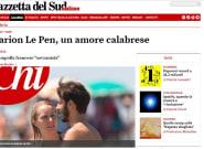 Marion Maréchal et Vincenzo Sofo, militant de la Ligue, la relation qui a fait s'emballer la presse
