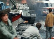 La batalla que por poco se libró entre militares soviéticos y figurantes checos en