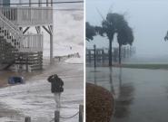 L'ouragan Florence se fait déjà ressentir en Caroline du