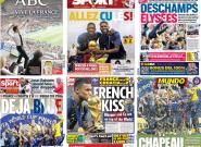 La France championne du Monde: comment la presse étrangère a salué le sacre des