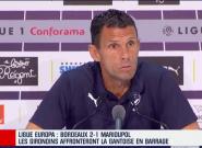 Gustavo Poyet, entraîneur de Bordeaux, menace de partir dans une conférence de presse