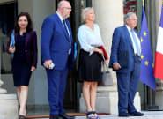 Françoise Nyssen, Stéphane Travert, Jacques Mézard... les ministres qui sortent du