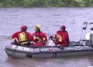 Vaste opération de sauvetage d'amateurs de rafting en
