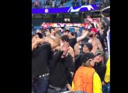 Manchester City - Lyon: ce salut nazi de ce supporter lyonnais n'est pas passé