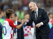Joueur de l'année Fifa: Gianni Infantino, le président de la Fifa, s'étonne de l'absence de joueurs