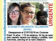 La Guardia Civil pide ayuda para encontrar a una adolescente desaparecida en