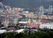 Italy Bridge Collapse: Cars Crushed As Part Of Morandi Bridge Collapses During Heavy