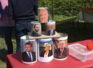 Moscovici apparaît dans un jeu avec Trump et Le Pen à la Fête de la Rose, des sanctions réclamées au