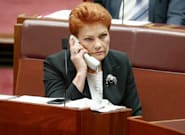 Pauline Hanson's 'Battler Bus' Broke Down On The Campaign