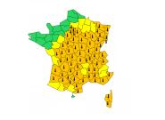 Canicule: Météo-France garde 67 départements en vigilance