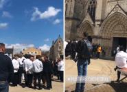 Obsèques de Joël Robuchon à Poitiers: des centaines de grands chefs en tenue lui rendent un dernier