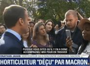 Jonathan Jahan, l'horticulteur au chômage, répond à Macron: