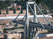 Gênes: des craquements du reste du pont Morandi interrompent les opérations de