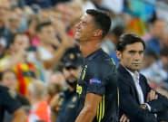 Valence-Juventus: Cristiano Ronaldo en larmes après avoir écopé d'un