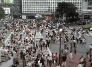 La reforma de plaza de España incluirá un paso de peatones transversal como el de