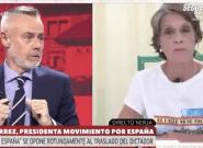 Una franquista se la lía a lo bestia a Jordi González en pleno