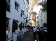 Susto en Puerto Banús (Málaga) por la explosión de un