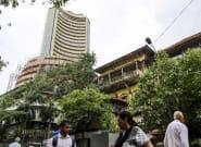 Sensex Falls 75 Points, Nifty Slips Below 9,600-Mark On Lower GDP