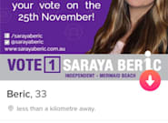 Former Pauline Hanson Staffer Using Tinder For QLD Election