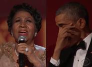 El día que Aretha Franklin hizo llorar a Barack