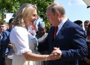La danse de Poutine avec cette ministre autrichienne apparentée extrême droite fait