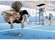 Cette caricature de Serena Williams a mis en colère JK Rowling et beaucoup d'autres