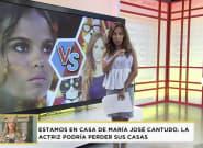 El tremendo hachazo de María Patiño a Gloria Camila por atacar