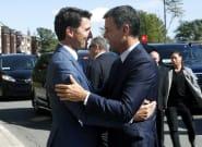¿Elegancia o mal gusto? Los calcetines de Trudeau acaparan todas las miradas en su encuentro con