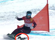 This Squirrel Just Cheated Death On The Olympic Snowboarding