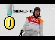 Someone Gave Shaun White's Gold Medal Run The Super Mario