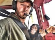 Orphan Chimp In Viral Video Broke Rescue Pilot's