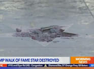 Trump's Hollywood Walk Of Fame Star Has Been