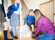 Siete trucos que los padres necesitan para hacer leve la vuelta al
