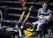 Esta madre paró de correr durante una ultramaratón para dar el pecho a su