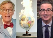 Bill Nye Gets Blunt With Leaders On John Oliver's Show: 'The Planet's On F**king